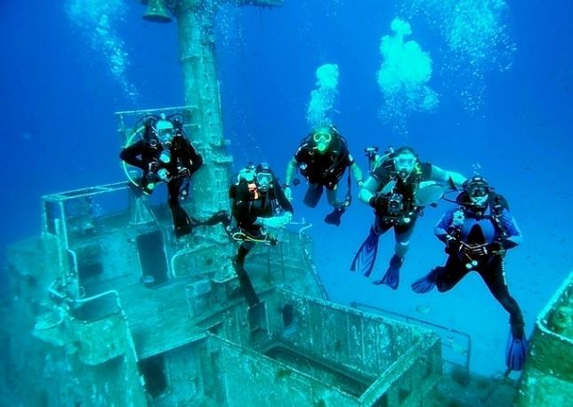 scufundari in Malta