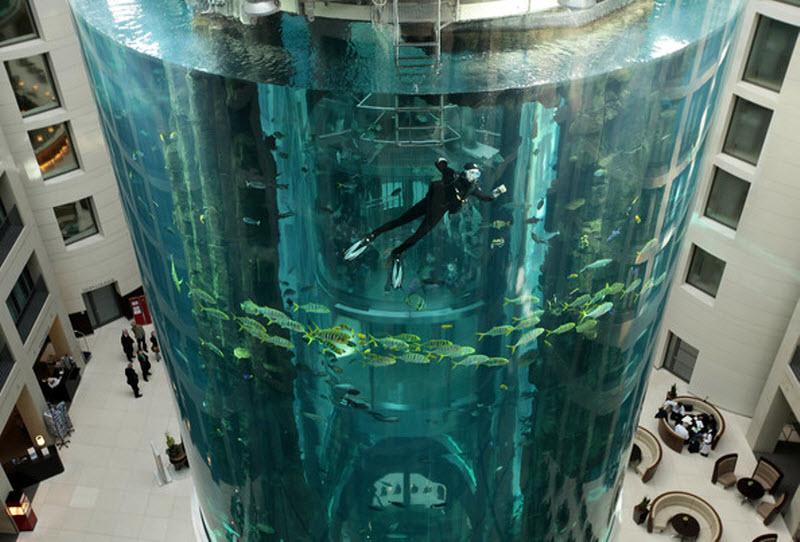 acvariul AquaDom, destinatii turistice Berlin