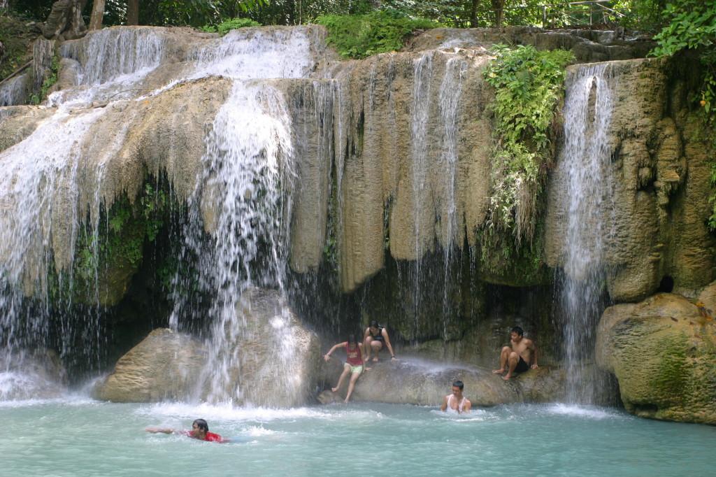 Erawan, locuri speciale unde sa inoti, piscine naturale
