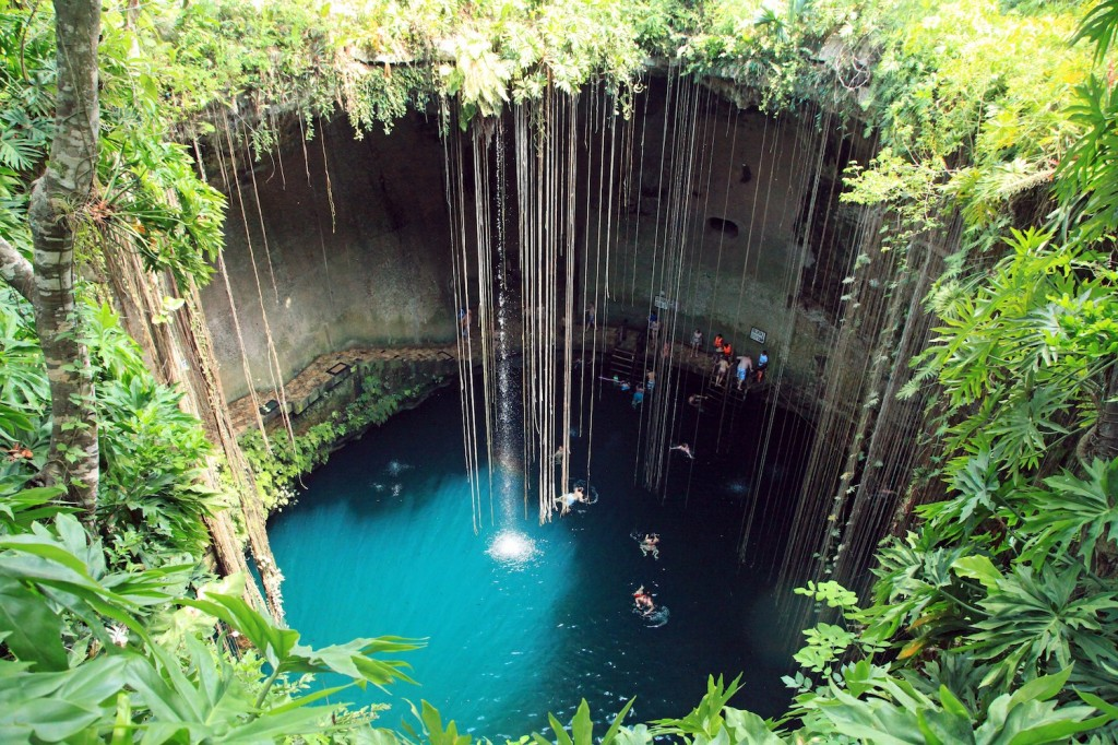 Ik Kil, locuri speciale unde sa inoti, piscine naturale