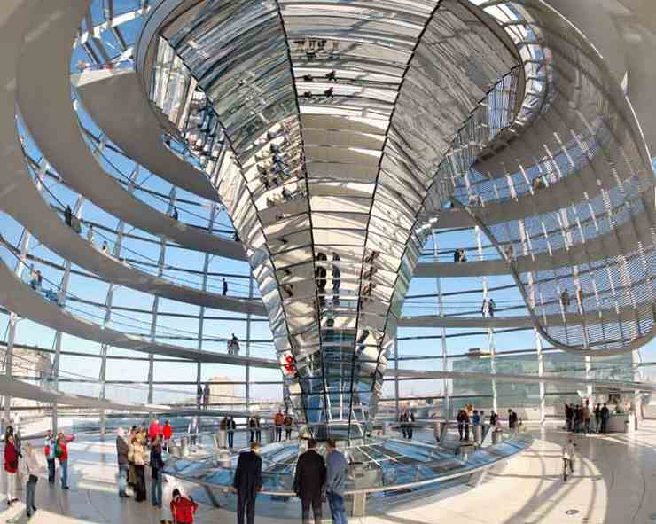 domul din Reichstag, destinatii turistice Berlin