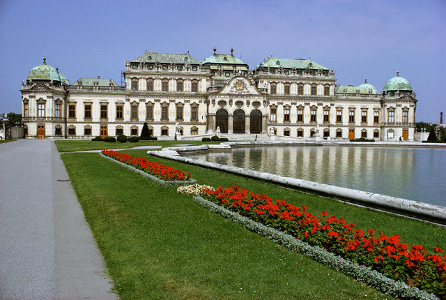 Palatul Belvedere, Viena