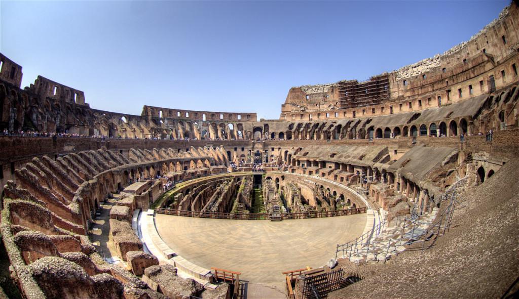 Colosseum, obiective turistice Roma
