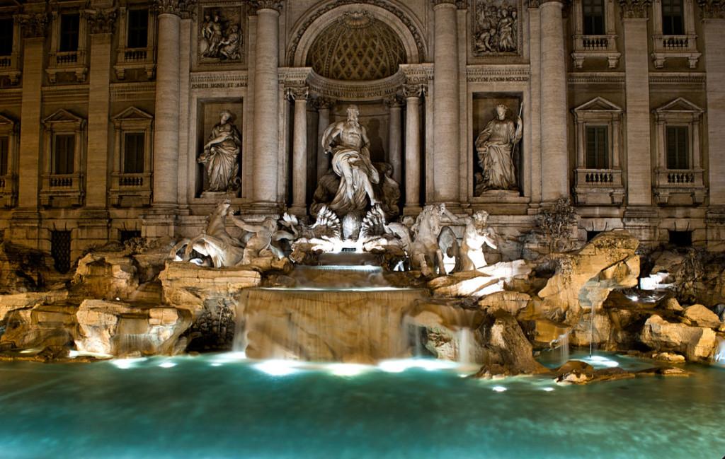 Fontana di Trevi, obiective turistice Roma