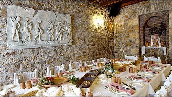 Restaurant Archeon Gefsis, restaurante ciudate