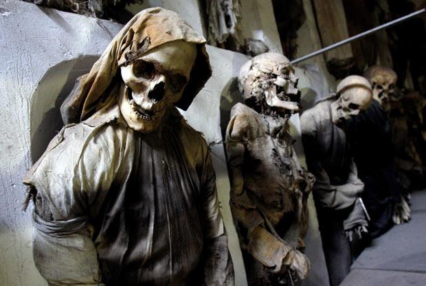Catacombe din Sicilia, locuri infricosatoare din Europa