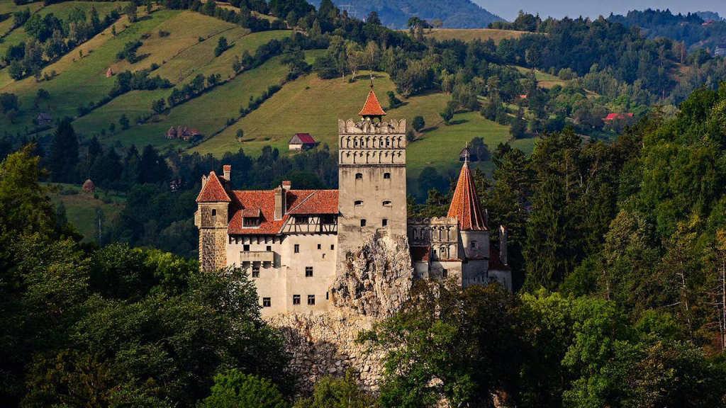 Castelul Bran, locuri infricosatoare din Europa