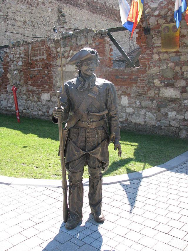 Cetatea Alba Carolina, monumentul soldatului necunoscut