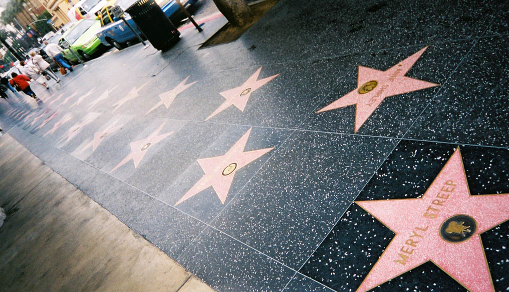 Walk of Fame, Aleea Starurilor, Los Angeles