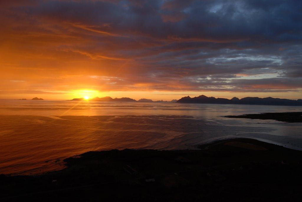 Loften, Norvegia, apusuri impresionante din lume