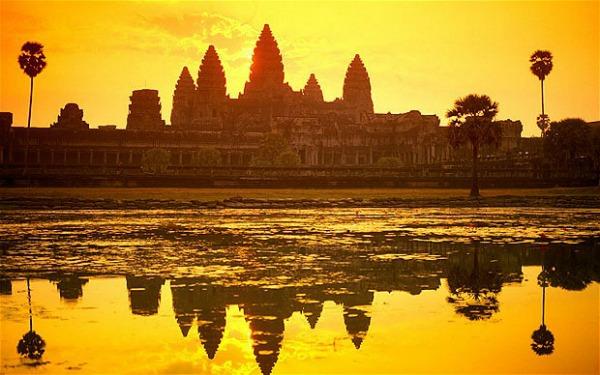 apus in Cambodgia, top apusuri din lume