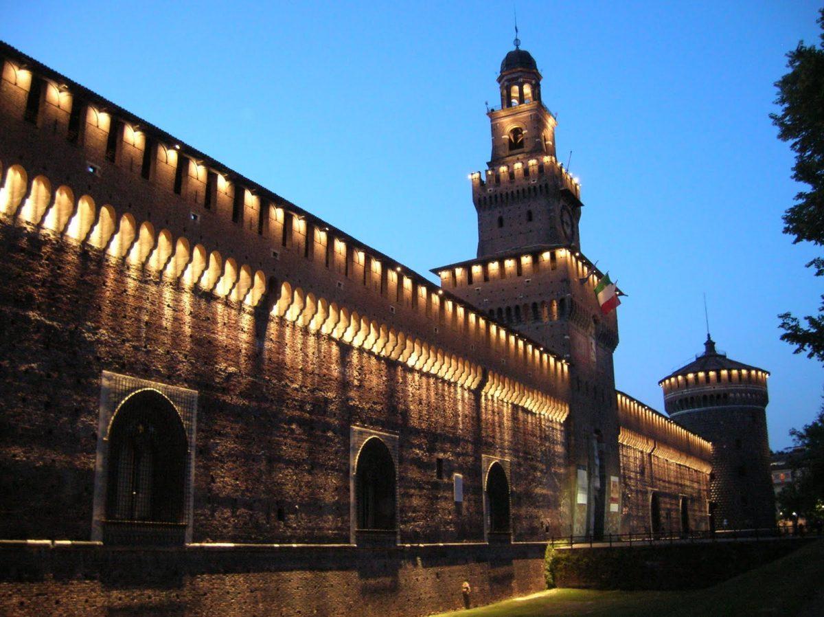 Castello Sforzesco, obiective turistice Milano