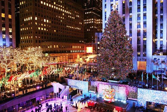 Craciun New York, destinatii populare sarbatori iarna