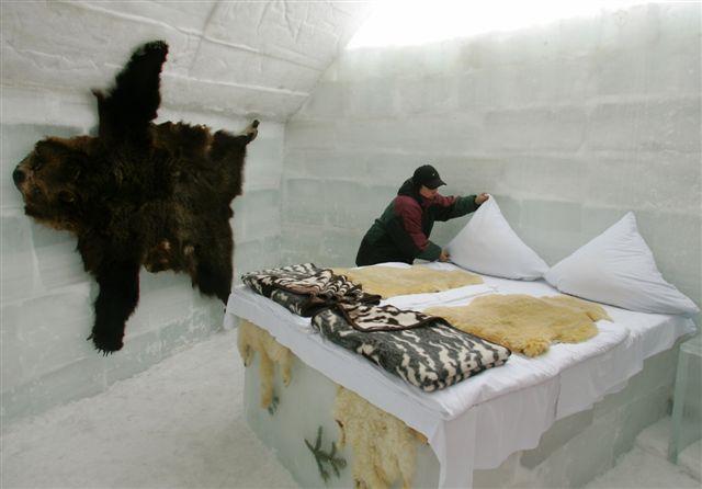 hotel gheata Balea Lac, ce sa faci in Romania iarna