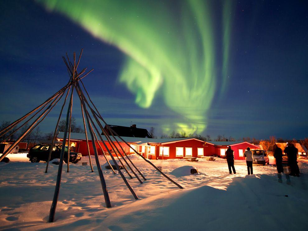 top destinatii iarna in Europa, Abisko, Suedia