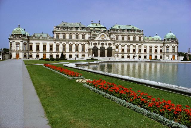 Palatul Belvedere Palace, obiective Viena