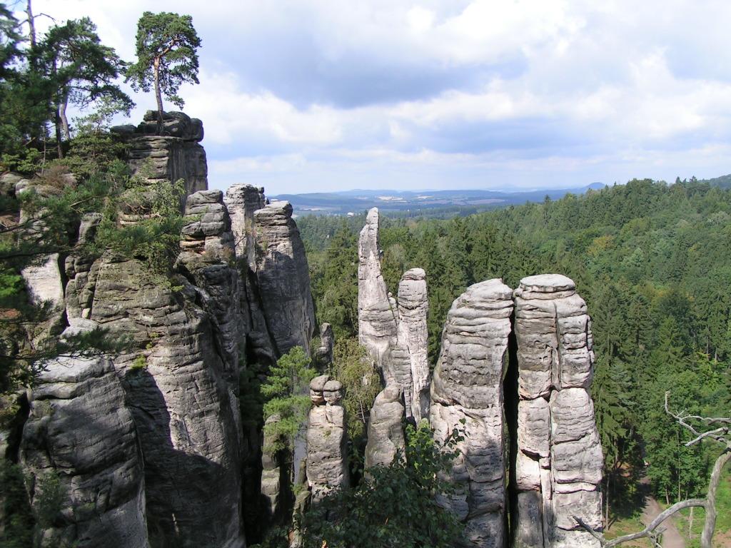 orasele de piatra din Republica Ceha