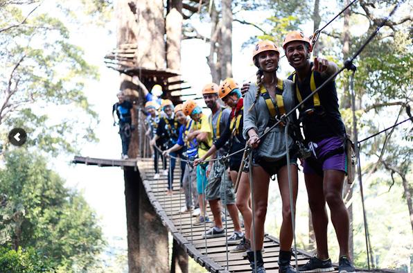 Jungle Flight Chiangmai, cele mai bune tiroliene din lume
