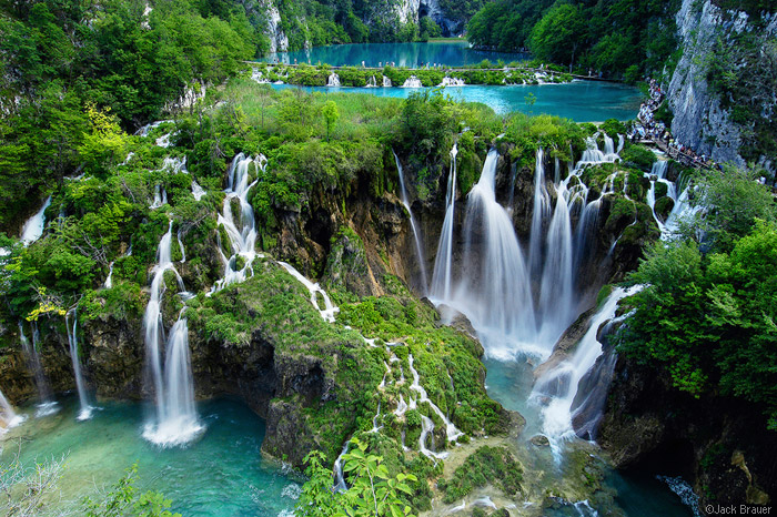 parcul national Plitvice, Croatia