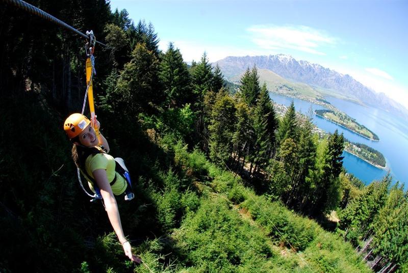 Ziptrek, cele mai spectaculoase tiroliene din lume