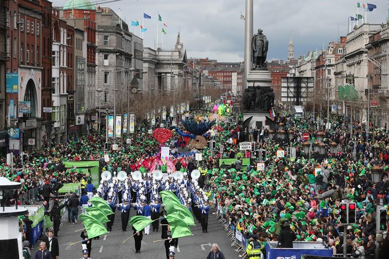 festival de Sfantul Patrick in Dublin, Irlanda, de vizitat in martie