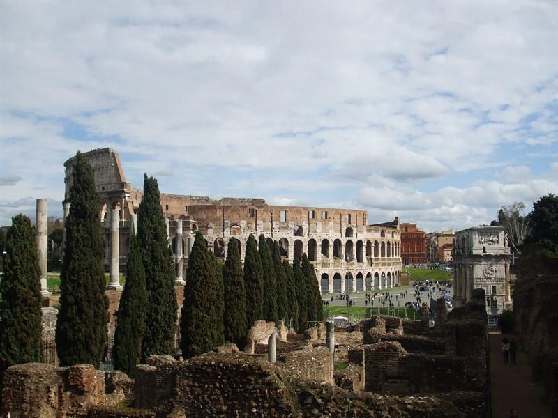 Colloseum, jurnal calatorie Roma