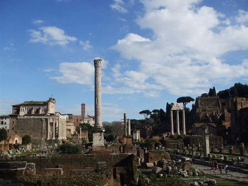 Forum, jurnal calatorie Roma