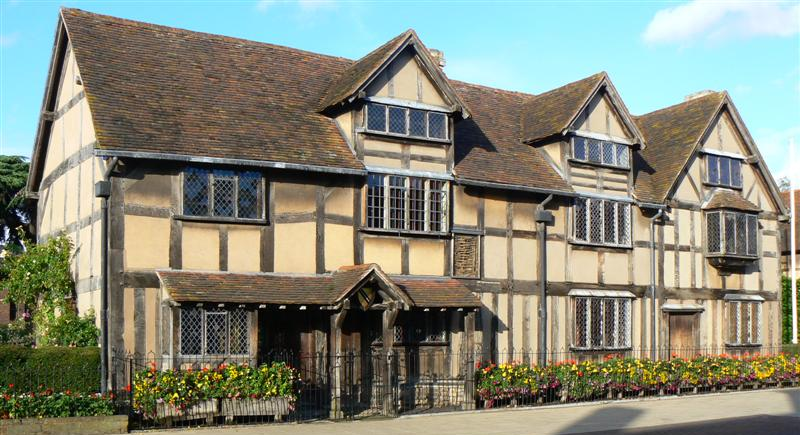 Stratford-upon-Avon, jurnal calatorie Marea Britanie