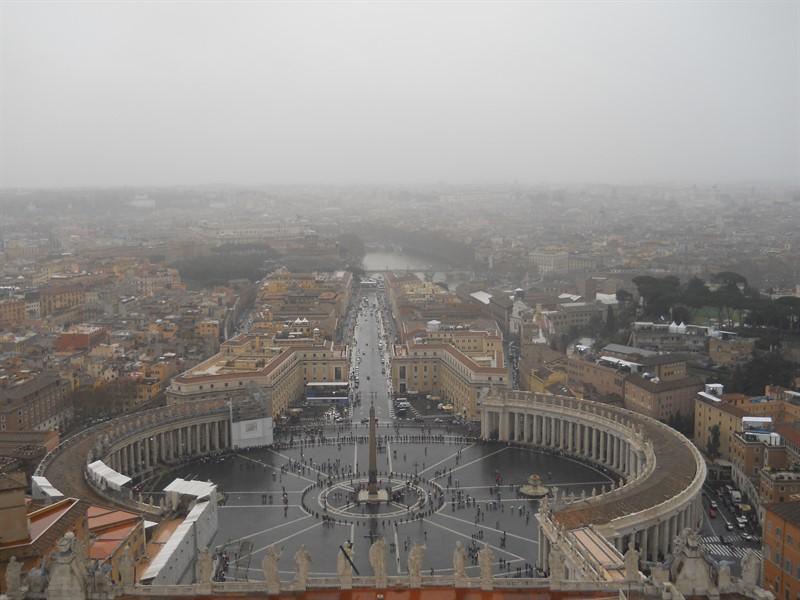 Vatican, jurnal calatorie Roma