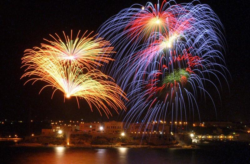 festival de artificii in Valletta, Malta, destinatii primavara Europa