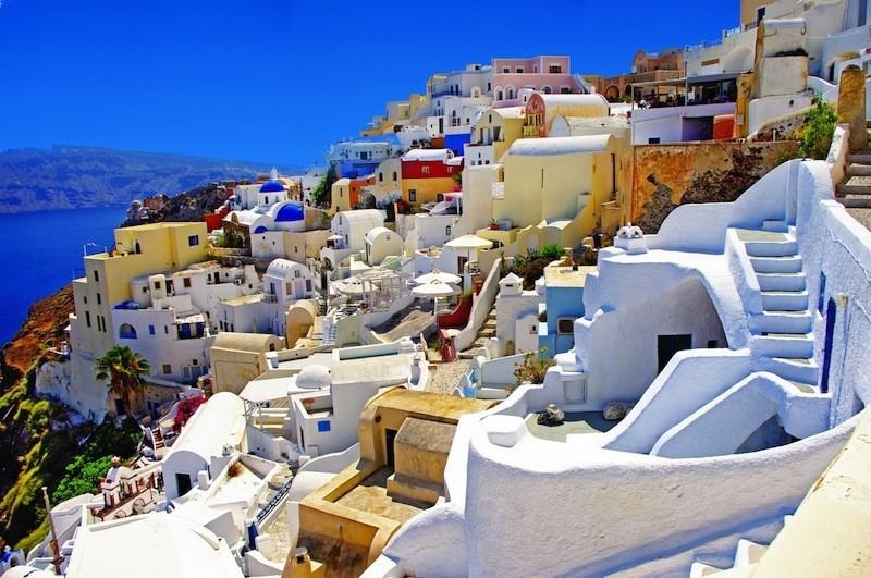 Fira, Santorini, top cele mai fotografiate orase Europa