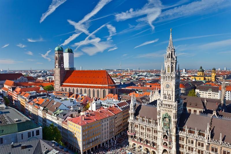 Munich, top cele mai fotografiate orase Europa
