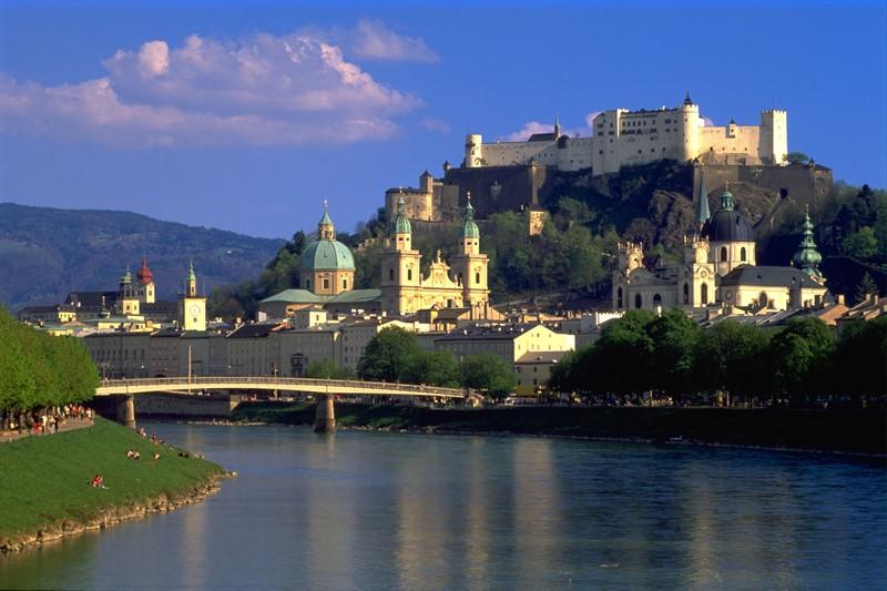 Salzburg, top cele mai fotografiate orase Europa