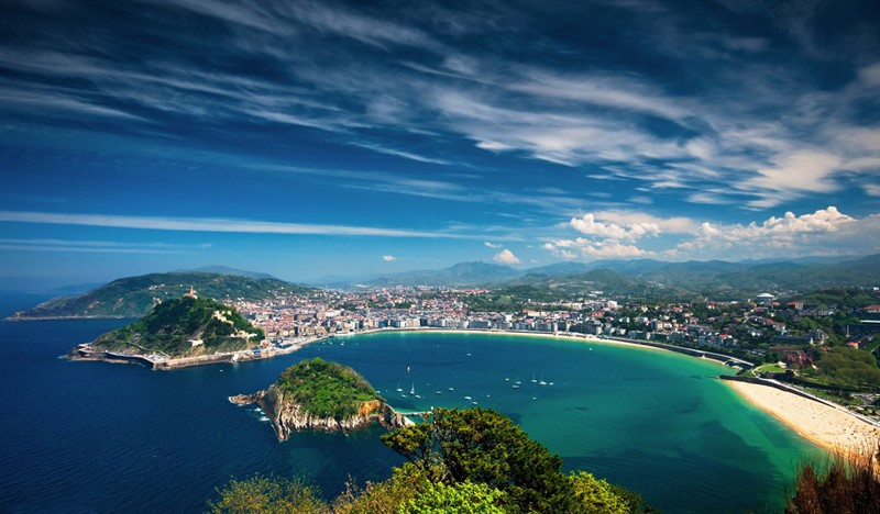 San Sebastian, top cele mai fotografiate orase Europa