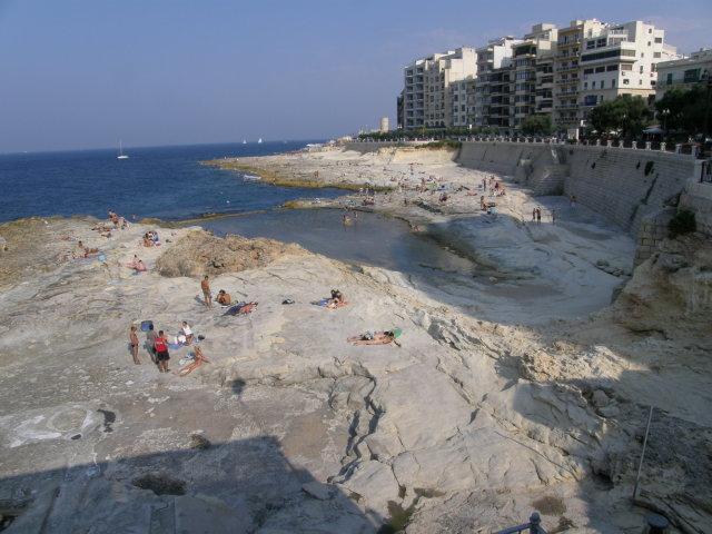 plaja Silema, obiective turistice Malta