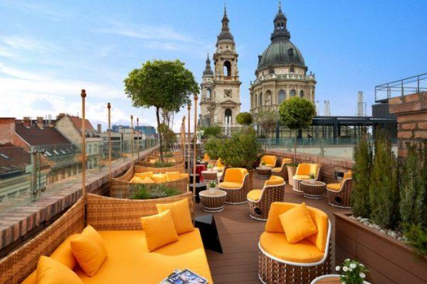 High Note Sky Bar - Aria Hotel, Budapesta