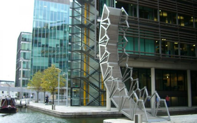 Rolling Bridge, Londra