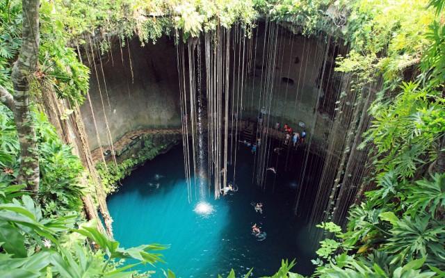 Ik Kil, locuri de inotat, piscine naturale