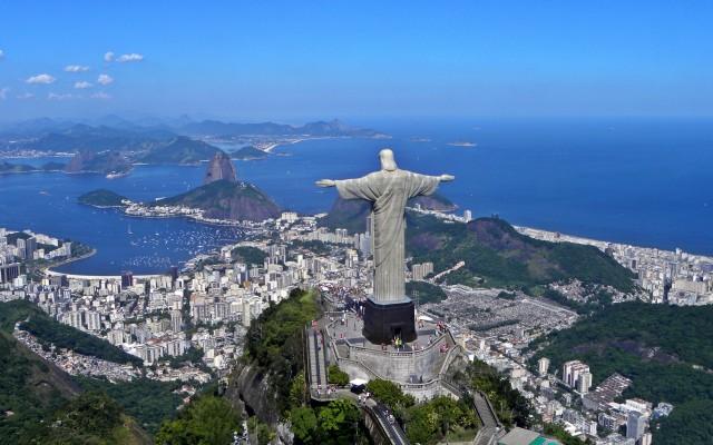 statuia lui Hristos Mantuitorul, obiective turistice Brazilia