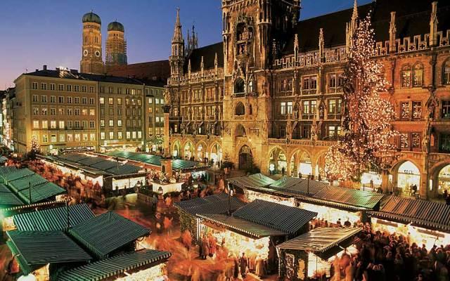 Marienplatz, Munchen, oferte speciale pentru vacante de Craciun