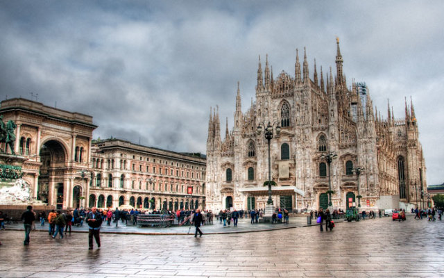 Plaza del Duomo, obiective turistice Milano