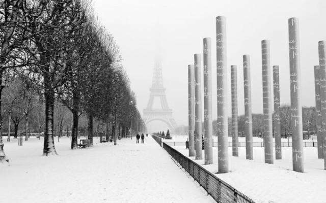 iarna Paris, destinatii populare sarbatori iarna