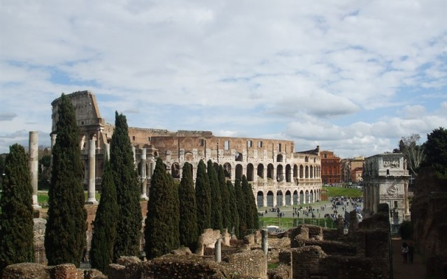 Colloseum, jurnal calatorie Roma