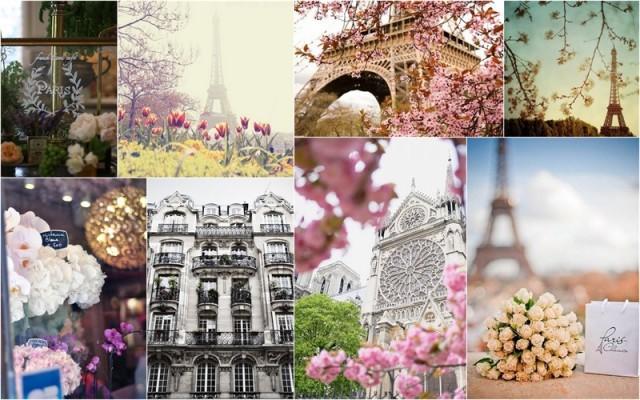 Paris, destinatii primavara Europa