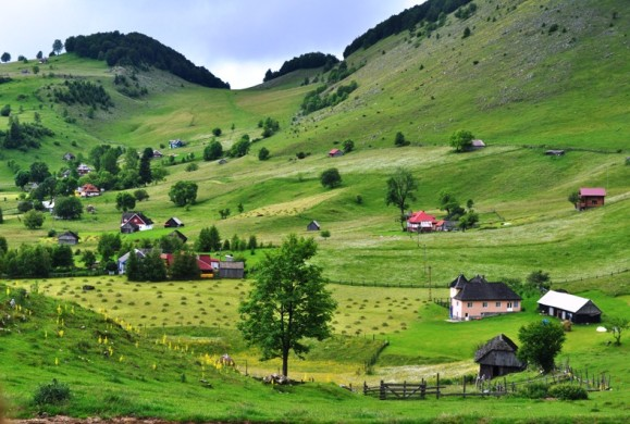 Sirnea, primul sat turistic din Romania