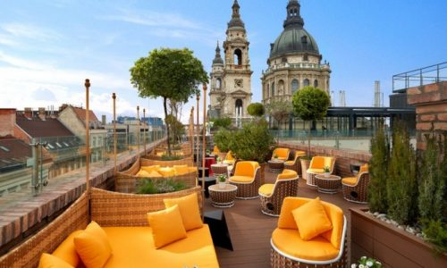 High Note Sky Bar - Aria Hotel, Budapesta