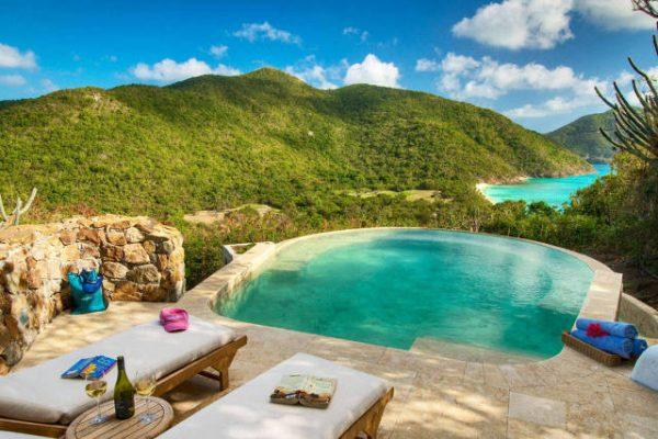 Insula Guana, Insulele Virgine Britanice