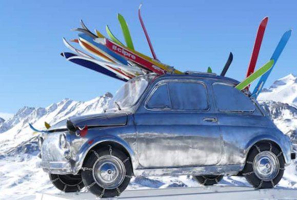Vacanta de iarna cu masina