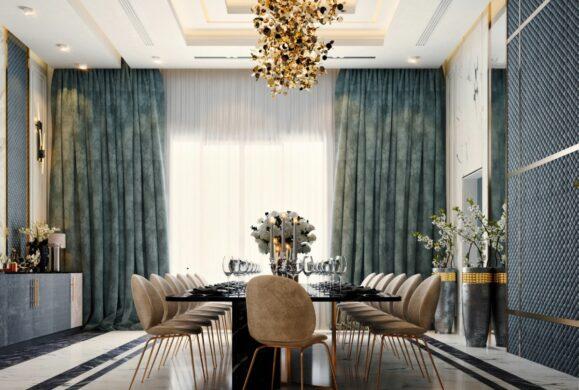 Un proiect de design interior pentru case moderne